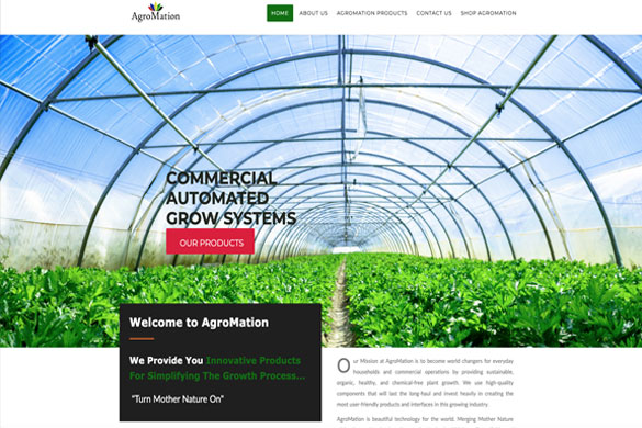 Agromation Website