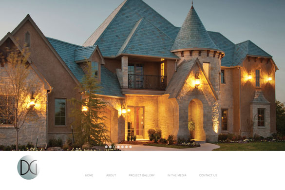 Dave Goodman Homes Website