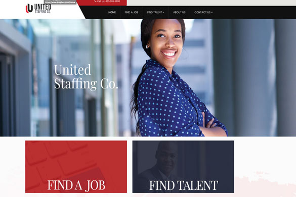United Staffing Co. Website